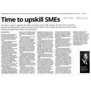 [Newspaper 29/2/2016 ] Time to upskill SMEs