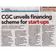 [Newspaper 3/6/2014 ] - CGC unveils financing schema for start-ups