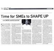 [Newspaper 21/08/2015] - Time for SMEs to SHAPE UP